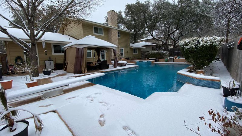 Anne & Tim Gerber woke up to a winter wonderland in San Antonio on Monday morning... but the...