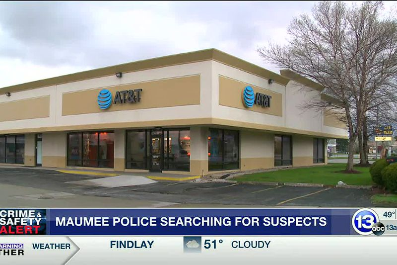 Maumee Police searching for robbery suspects