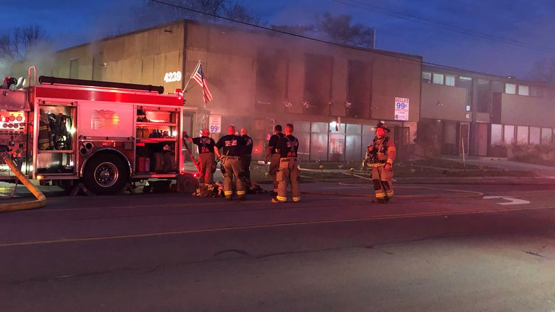 Toledo Fire was on the scene of a fire in the 4200 block of Monroe St. on Friday, April 9.