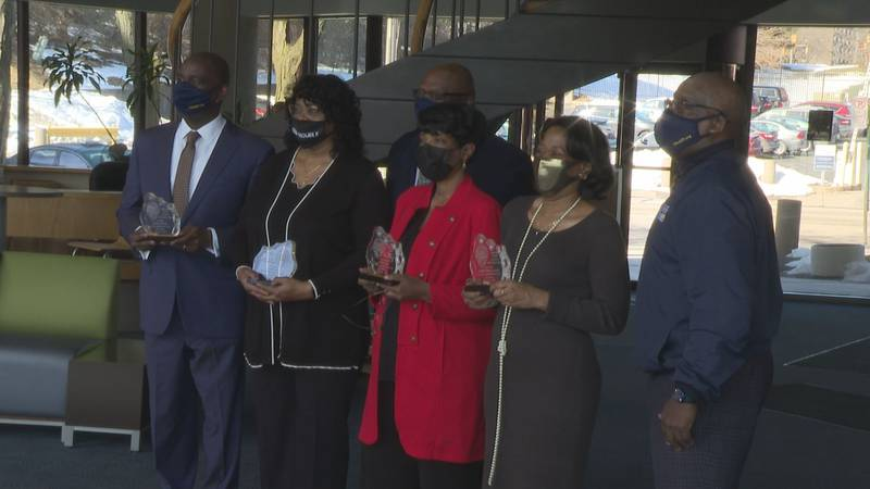 Four Toledo community leaders honored during Black History Month