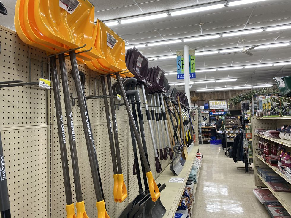 Stores gear up for winter weather