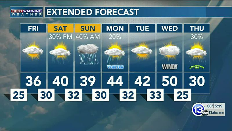 Light snow continues to fall through the evening, with another system rolling in this weekend....