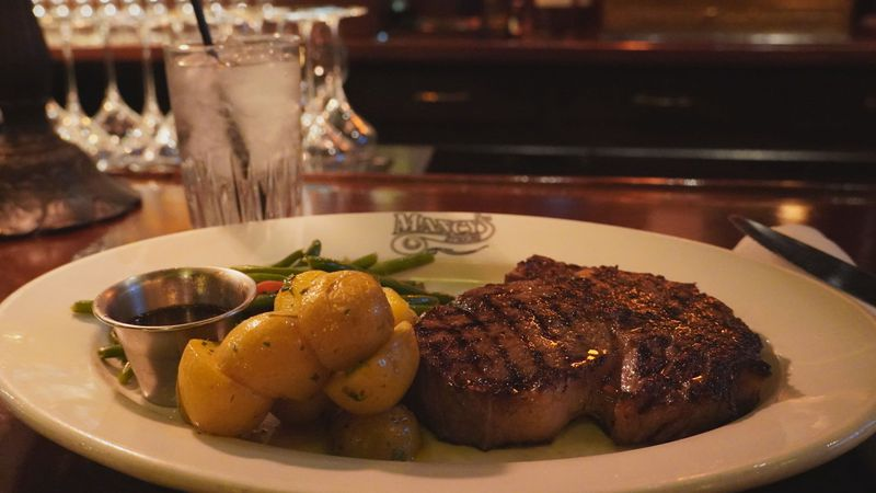 Mancy's is known for world class steaks.