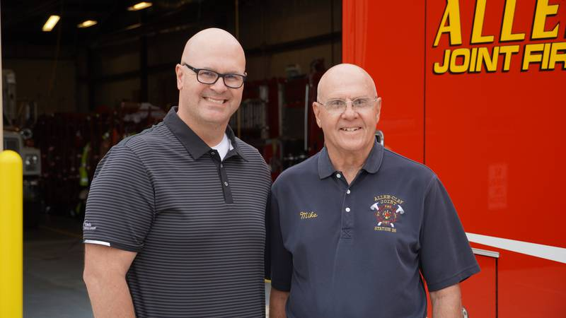 Pvt. Mike Best was nominated as our First Responder of the Week by his son, Brian.