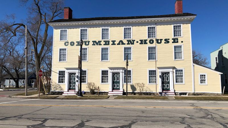 The old stagecoach stop and inn will soon be a virtual museum