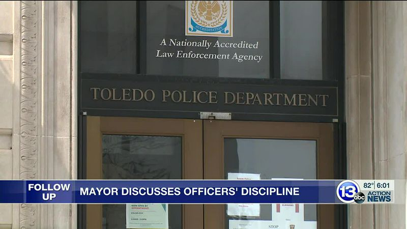 Toledo Mayor discusses sexual harassment charges against officers