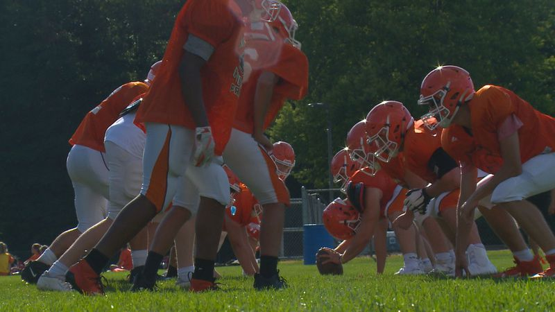 Southview's high school football team continues to practice in preparation for the upcoming...