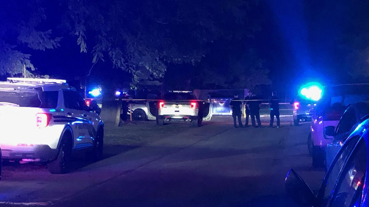 One person shot at the Westland Gardens Apartments