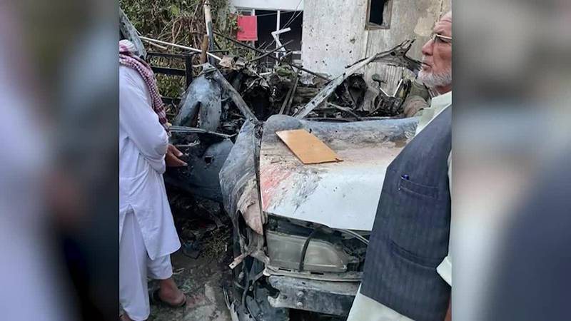 The US Military admits killing 10 civilians including 7 children, by targeting wrong vehicle in...