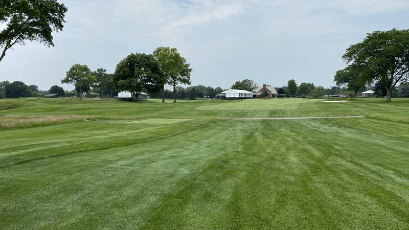 A shot of the Inverness Club July, 27, 2021.