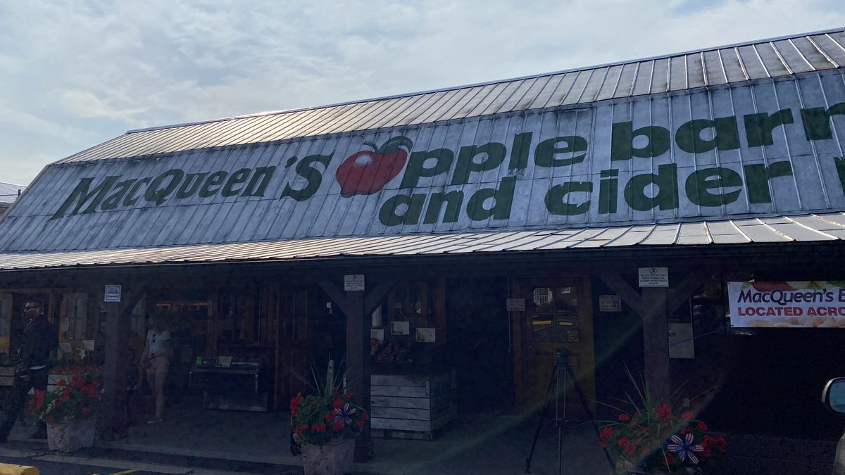 The MacQueen family explains that the shortage in apples will not impact its local Apple Barn and Cider House, instead it will alter its national sales.