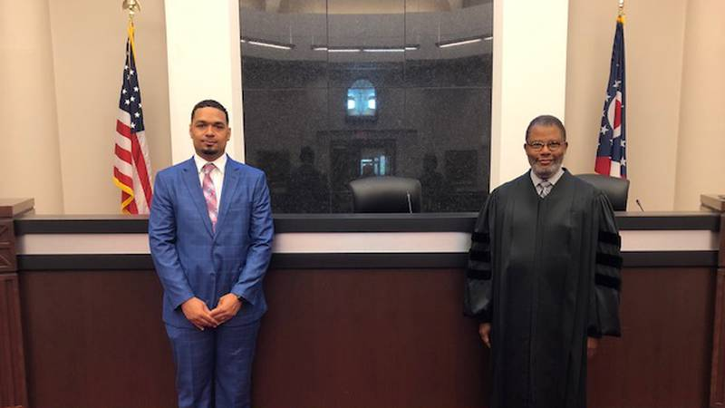 Joshua Williams is officially an attorney today