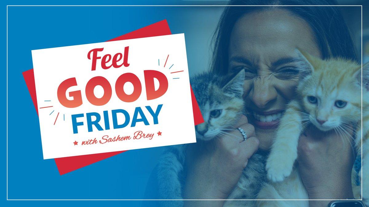 Feel Good Friday with Sashem Brey