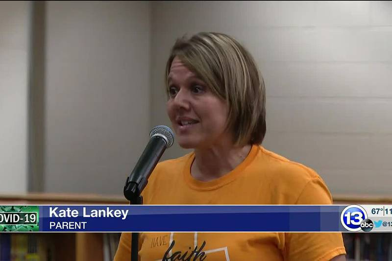 At Tuesday evening's meeting, parents did not mince words with the school board.