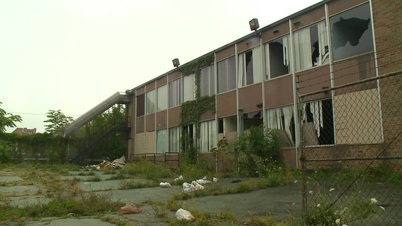Residents fed up with abandoned building owned by Cathedral Ministries Inc.
