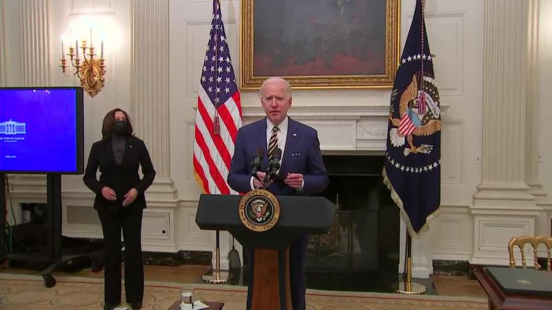 President Biden has made his first calls to world leaders. Yesterday he called Mexico and...