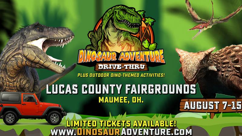 A Dinosaur adventure drive-thru is coming to Maumee!