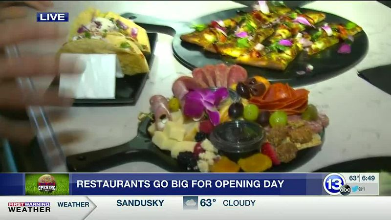International street food galore for opening day