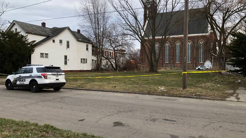 A woman is hurt after a shooting in central Toledo