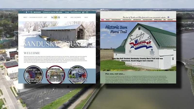 The Sandusky County Visitors Bureau and Visit Northwest Ohio both promote small towns in the 419