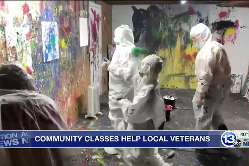 The money from the classes will be used to provide free programs for vets
