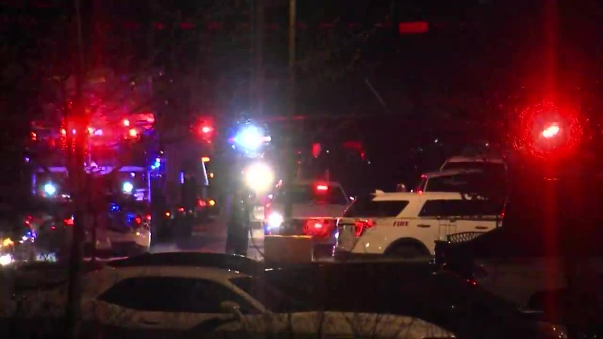 A gunman is dead after killing at least 8 people at an Indianapolis FedEx facility, leaving...