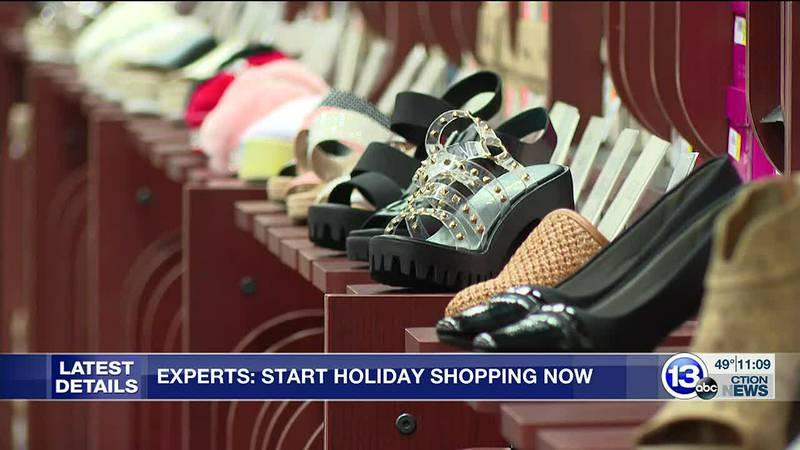 Experts: Start holiday shopping now