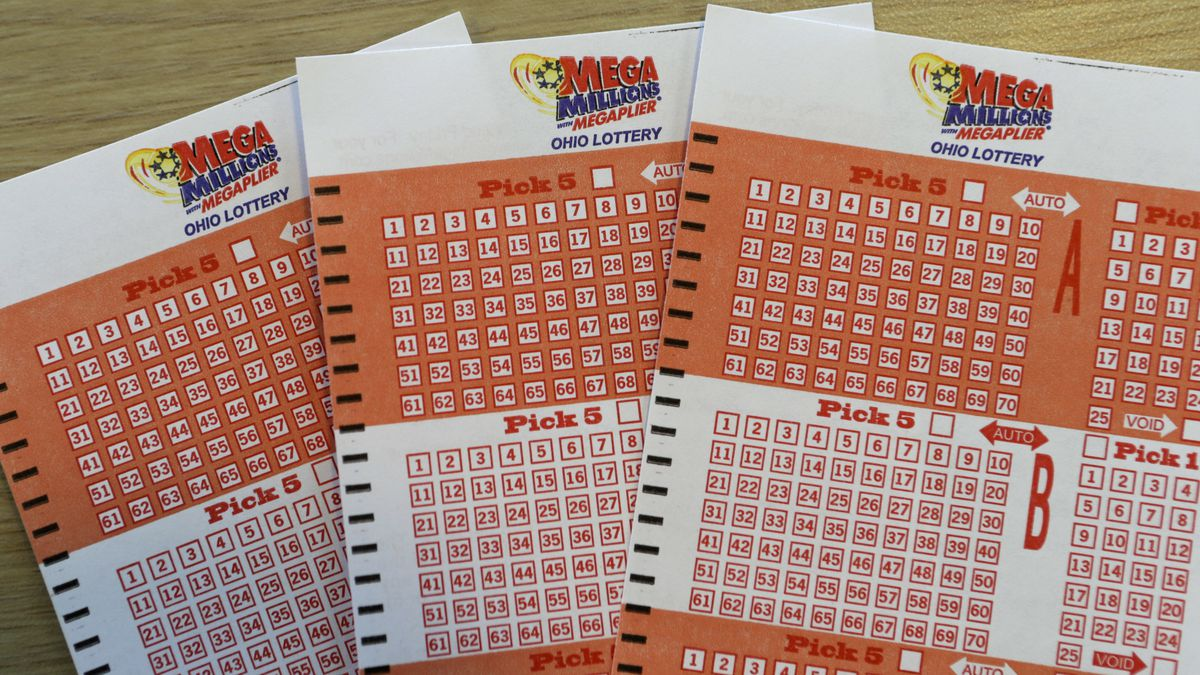 Mega Millions bet cards are shown at the Corner Market, Wednesday, Oct. 17, 2018, in...