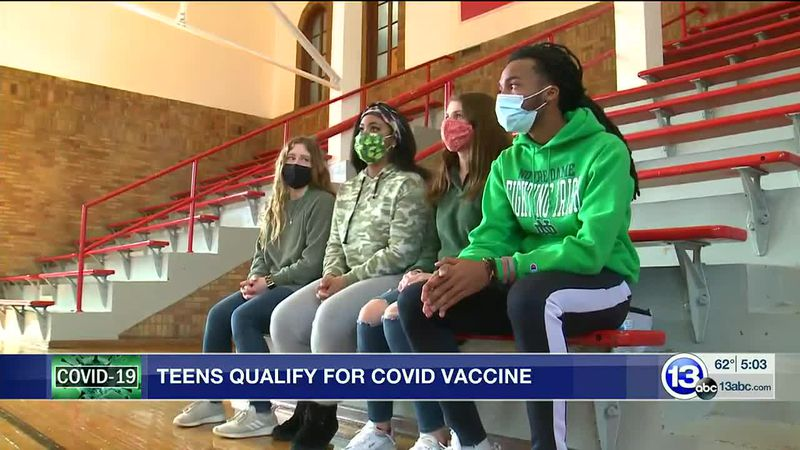 Teens qualify for COVID vaccine