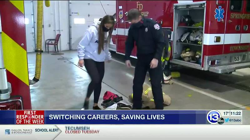 Ben Kohler left his desk job 20 years ago to become a firefighter and paramedic in Springfield...