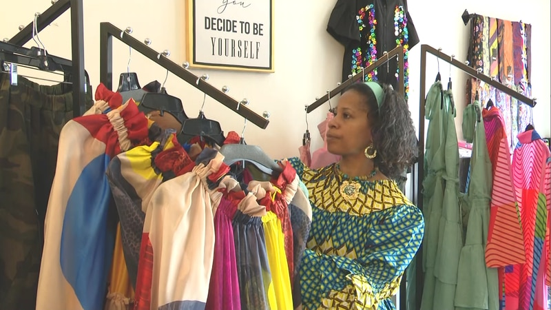 Terrie Cook celebrates 7 years in business with Simply Divine Boutique.