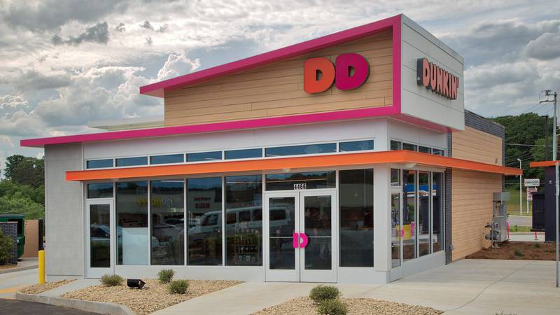 The chain is focusing on larger standalone cafes. (Source: Dunkin')