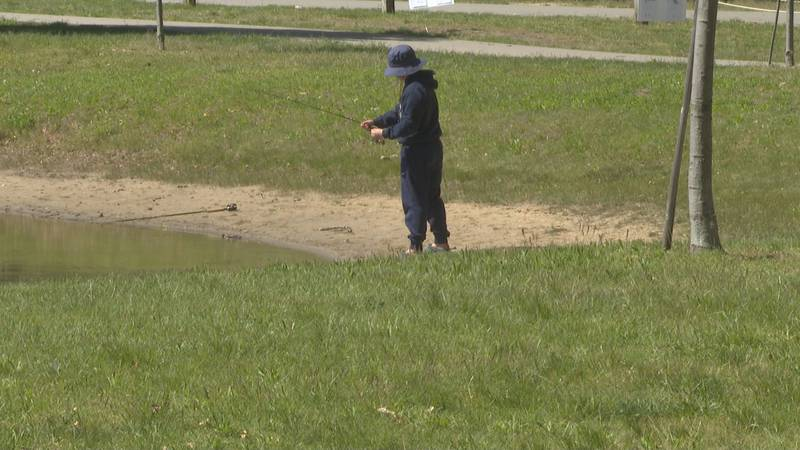 ODNR hosts annual free fishing days, which coincide with Father's Day weekend