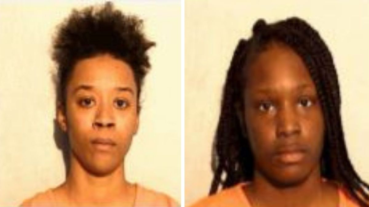 JolayStatin, left, and Yasmen Crow are charged for allegedly robbing an elderly woman in a...