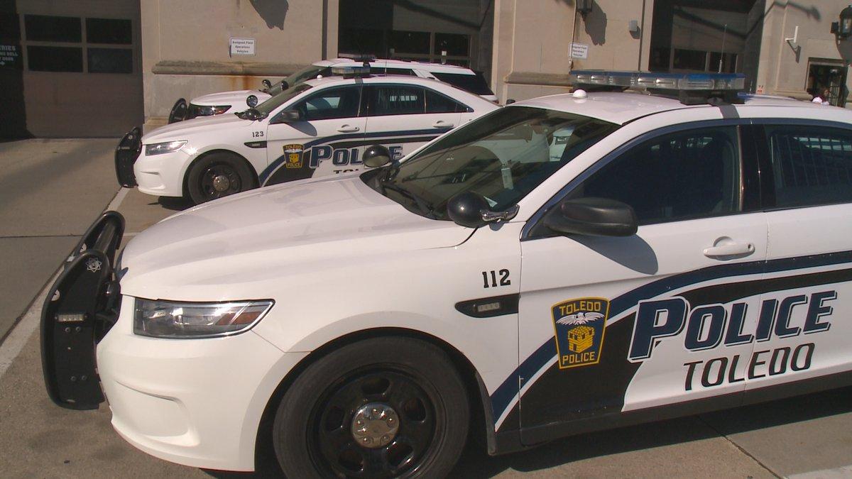 Toledo Police Department cruiser.