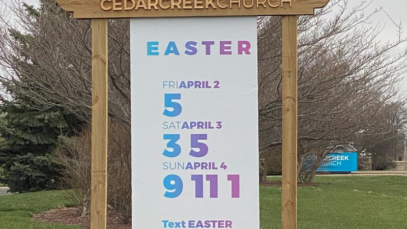 CedarCreek Church is thrilled to welcome congregation back for holiday services.