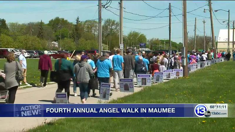 The annual Angel Walk honors those lost to addiction