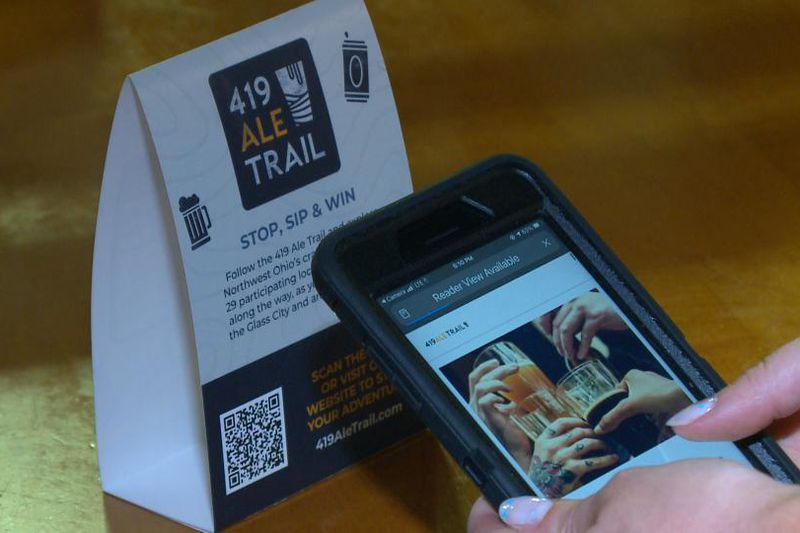 """The """"419 Ale Trail"""" features 29 breweries in 10 counties across Northwest Ohio"""