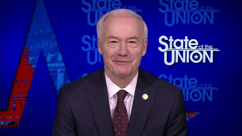 Arkansas Gov. Asa Hutchinson comments on former President Donald Trump's reported remarks on...