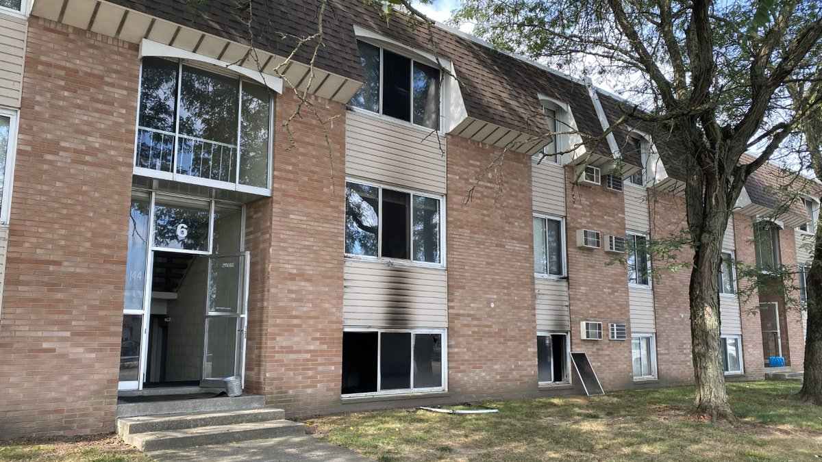 A man, who was around 66 years old, was found dead inside an apartment after it caught on fire...
