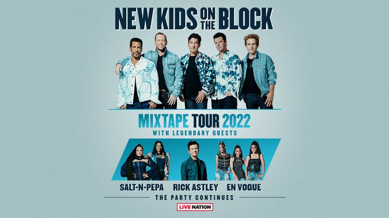New Kids On The Block Announce The Ultimate Party With 'The MixTape Tour 2022' Featuring...