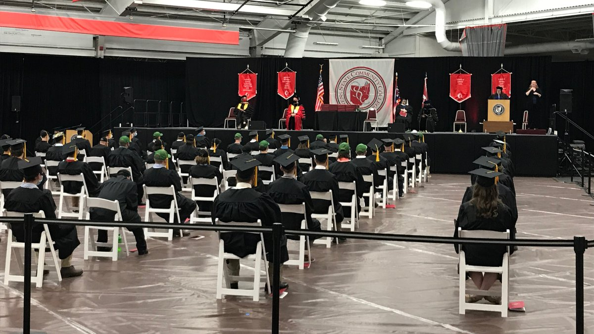 Owens Community College celebrated its class of 2020 and Spring 2021 gradutes during three...