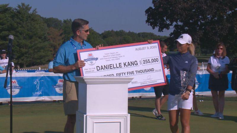 Danielle Kang wins the 2020 Marathon Classic