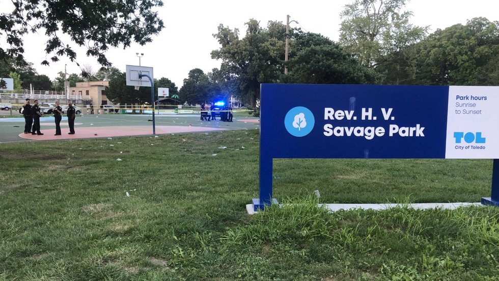 One person was shot at Savage Park in Toledo Sunday night, according to Toledo Fire & Rescue...