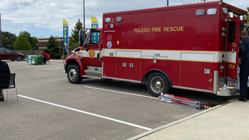 The Toledo Fire and Rescue Department is offering a chance for a COVID-19 shot by bringing the...