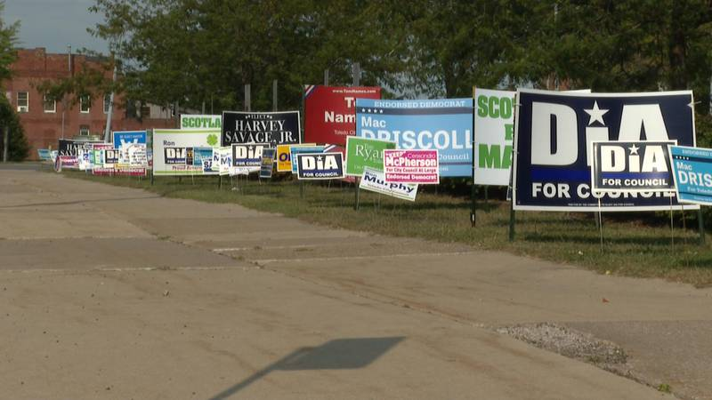 There are 3 mayoral candidates and 19 city council at-large candidates running in the primary.