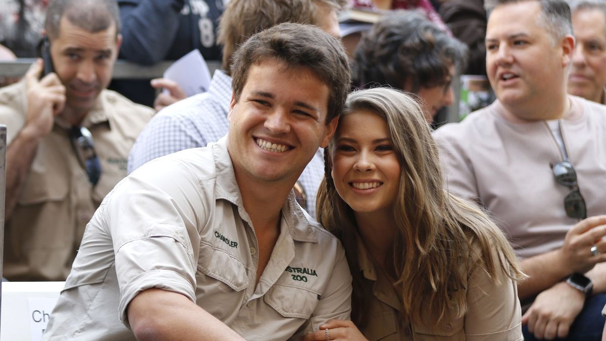 The 22-year-old daughter of the late conservationist and television personality Steve Irwin said she's in her first trimester.