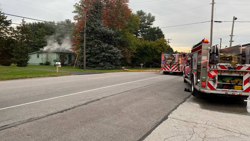 Toledo Fire and Rescue crews are working to figure out what started a fire on South Avenue.