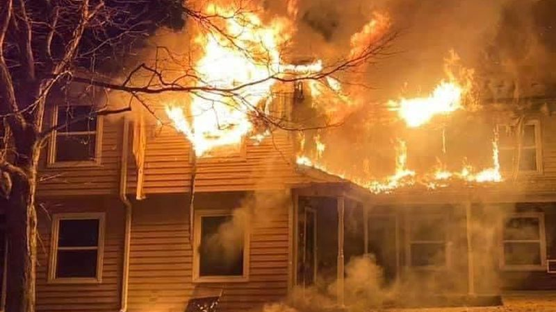 Greenwood Apartment Complex fire