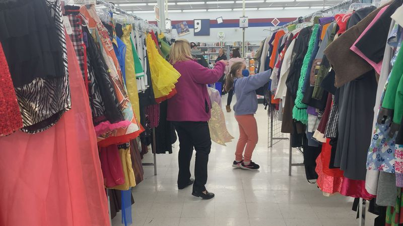 While the Halloween season usually makes up for 20% of Goodwill's annual sales, this year's...